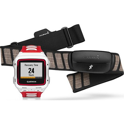 Forerunner 920XT Multisport GPS Watch w/ HRM-Run Heart Rate Monitor - White/Red