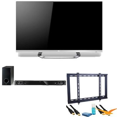 47LM6700 47` Class Cinema 3D 1080p 120Hz LED TV with SmartTV + Soundbar Bundle