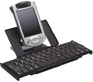 Foldable Keyboard for iPAQ hx2000, rz1700 and hx4700 Series