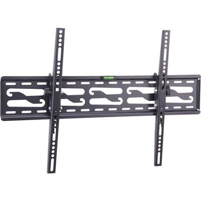 32- 72 Inch Ultra Slim Tilting Wall Mount Steel Construction Easy Install