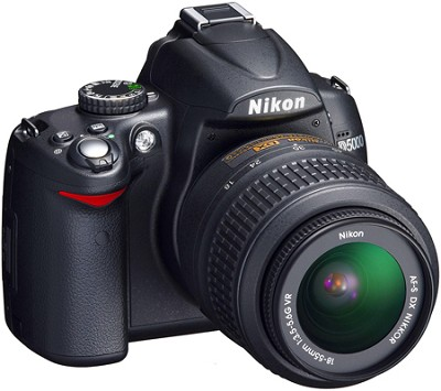 D5000 DX-Format Digital SLR Outfit w/ 18-55mm VR Zoom Lens