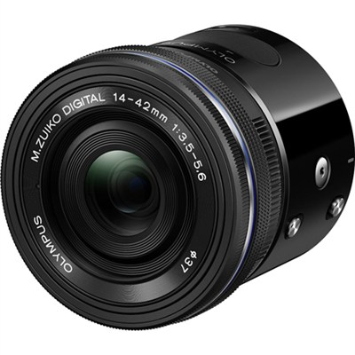 Air A01 16MP Interchangeable Lens Smartphone Camera w/ 14-42mm EZ Lens (Black)
