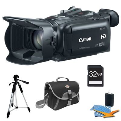 XA25 High Definition Professional Camcorder Plus 32GB Kit