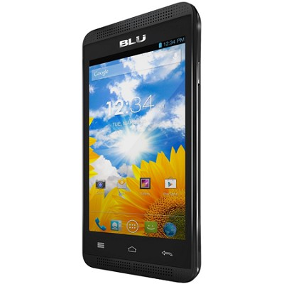 Dash Music 4.0 3G Android 4.2 Jelly Bean 4-Inch Unlocked Cell Phone (Black)