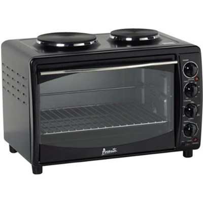 Avanti Multi-Function Electric Oven Convection Toaster,Black (OPEN BOX)