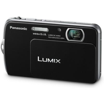 Lumix DMC-FP5 14MP Black Compact Digital Camera w/ 3.0` Touch Screen