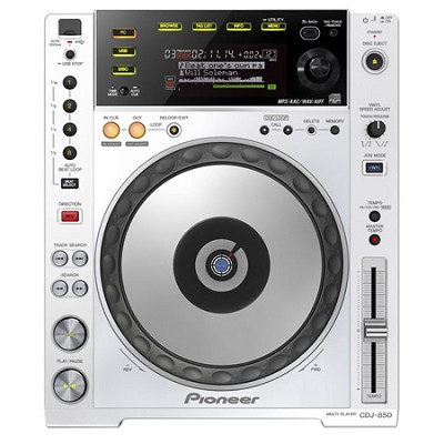 Performance Multi Player - White - CDJ-850-W