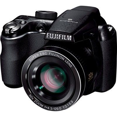 FinePix S4000 14 MP 3` LCD Digital Camera w/ Fujinon 30x Super Wide Angle Zoom