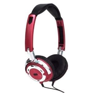 Popmetal DJ Style Headphones (Red)