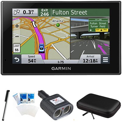 nuvi 2639LMT Advanced Series 6` GPS Navigation System Bundle