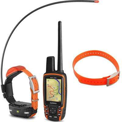 Astro 320 Handheld and T 5 mini Dog Training Device - Dog Collar Orange Bundle