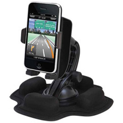 K66624US - Dash / Friction Mount with Sound Amplified Cradle for iPhone