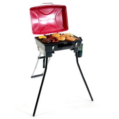 Dash Portable Outdoor Grill in Red and Black - 1610