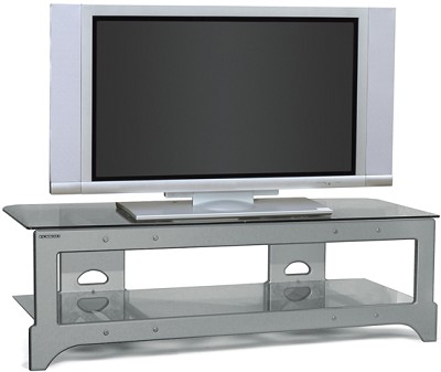 TL-2V Audio/Video Television Stand (Silver)