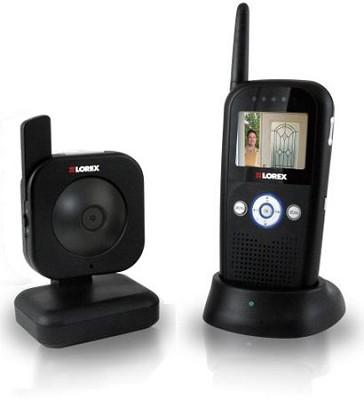 Lorex LW2002B Digital Portable Color LCD Wireless Surveillance System (Black)