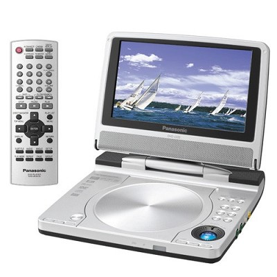DVD-LS55 7` LCD Portable DVD Player with AM/FM Transmitter