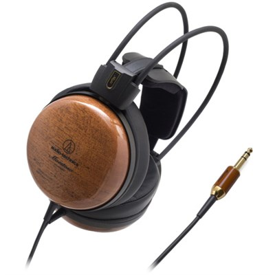 Audiophile Closed-Back Dynamic Wooden Headphones ATH-W1000Z