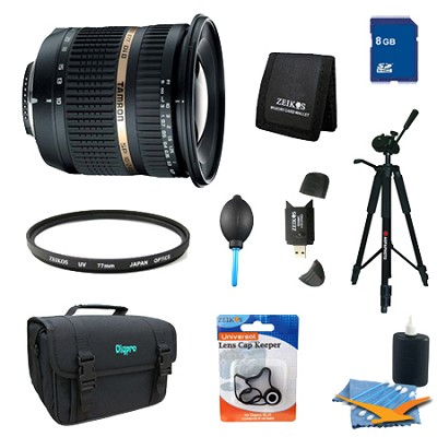 10-24mm F/3.5-4.5 Di II LD SP AF Aspherical Lens Pro Kit f/ Sony Alpha & Minolta