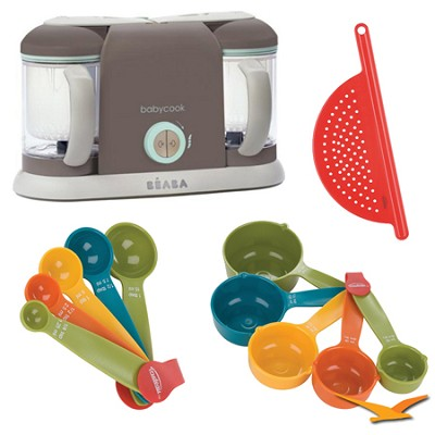 Babycook Pro2X Baby Food Processor and Steamer - Latte - Bundle