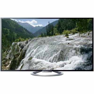 KDL-55W802A 55` 1080P 3D LED Internet HDTV w/ Built in Wi-Fi + Four 3D Glasses