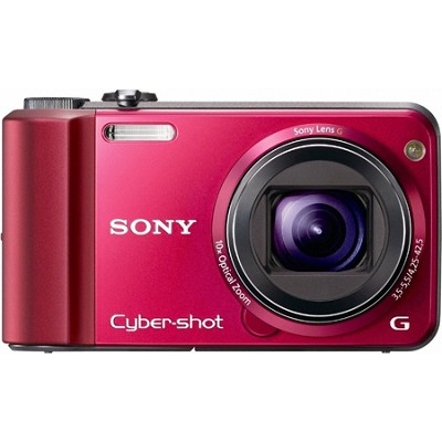Cyber-shot DSC-H70 Red Digital Camera