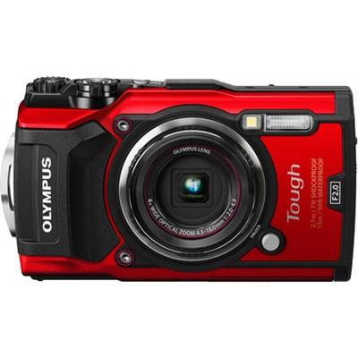 TG-5 12MP 4x Optical Zoom F2.0 Hi-Speed Lens Wi-Fi Digital Camera Body Red