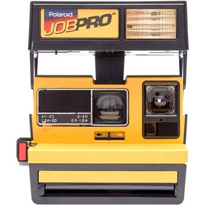 Polaroid 600 Job Pro Instant Film Camera, Built-In Automatic Flash (Yellow) 1288