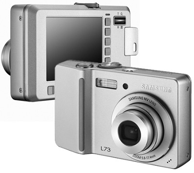 Digimax L73 Digital Camera (Silver)