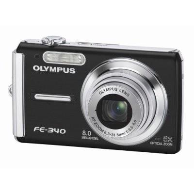 FE-340 8MP Digital Camera (Black) - REFURBISHED