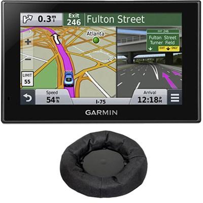 nuvi 2599LMT Advanced Series 5` GPS Navigation System Friction Mount Bundle