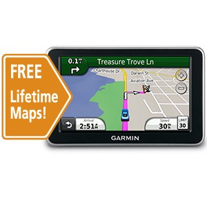 nuvi 2300LM 4.3` Widescreen GPS with LifeTime Map Updates - Factory Refurbished