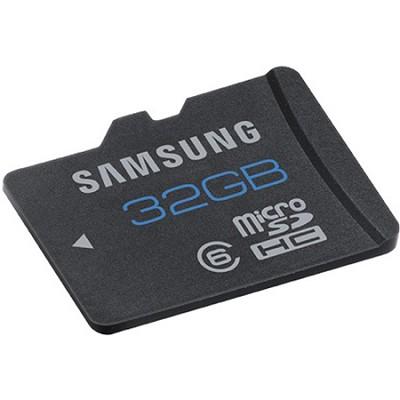 32GB High Speed Class 6 Waterproof, Shockproof, microSDHC Card - Bulk Packed