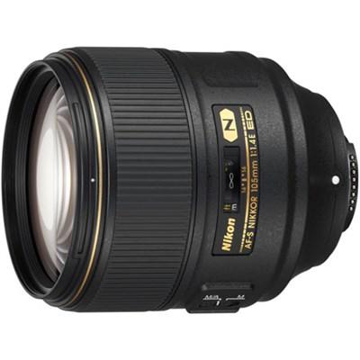 AF-S NIKKOR 105mm f/1.4E ED FX Full Frame Lens for Nikon DSLRs