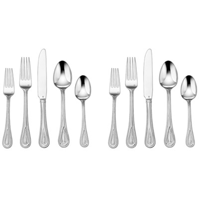 2-Pack of 20-Piece Flatware Set, Fampoux CFE-01-FP20