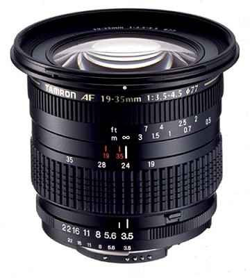 19-35 F3.5-4.5/  for Canon EOS  with Tamron USA WARRANTY