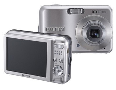 Finepix A150 10MP 3x Optical Zoom 3` LCD Digital Camera (Silver)
