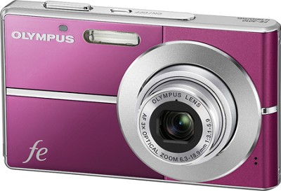 FE-3010 12MP 2.7` LCD Digital Camera (Magenta) - Open Box
