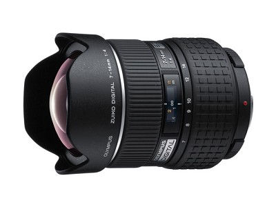 7-14mm f4.0 Zuiko Digital Zoom Lens one year USA and international warranty