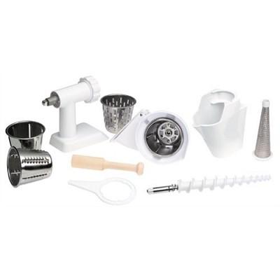 Accessory Pack: Food Grinder, Slicer/Shredder & Strainer