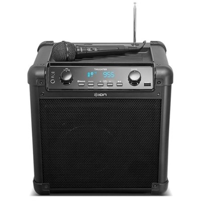 Tailgater Bluetooth Compact Speaker System with Microphone Factory Refurbished