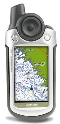 Colorado 400i Personal Handheld GPS Navigator w/ US Lakes Preloaded