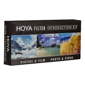 58mm 3-piece Filter Kit (includes a UV, CPL, 81A + Filter Wallet) - OPEN BOX