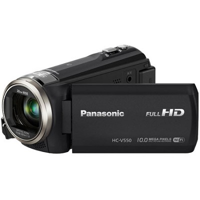 Full HD WiFi 50X Mega Zoom Camcorder with Hybrid Optical Imaging Stabilizer