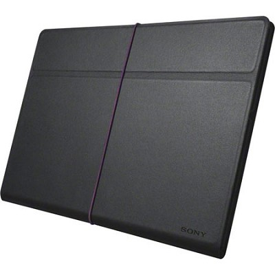 SGPCV3/B Black Stylish Leather Cover for Xperia Tablet S