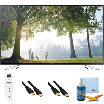 UN75H6350 - 75` HD 1080p Smart HDTV 120Hz with Wi-Fi Plus Hook-Up Bundle