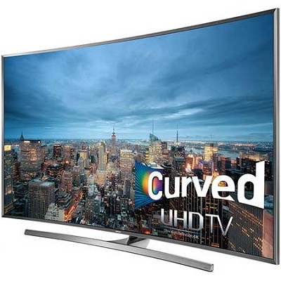 UN65JU7500 - 65-Inch Curved 4K 120hz Ultra HD Smart 3D LED HDTV