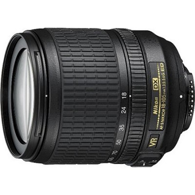 18-105mm f/3.5-5.6G ED AF-S VR DX Zoom-Nikkor Lens - Factory Refurbished