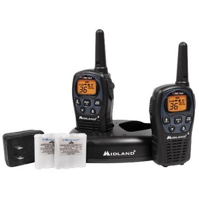 36-Channel GMRS with NOAA Weather Alert and 26 Mile Range - LXT560VP3