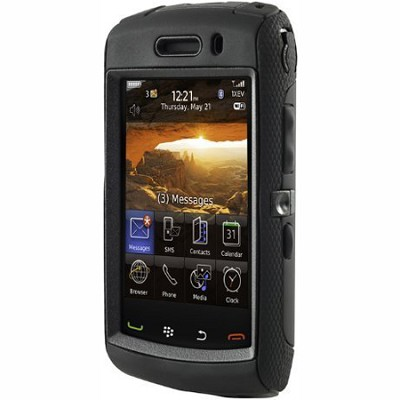 Defender Case for BlackBerry Storm 2 9550 (Black)
