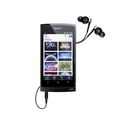 NWZ-Z1050BLK Walkman Mobile Entertainment Player 16GB
